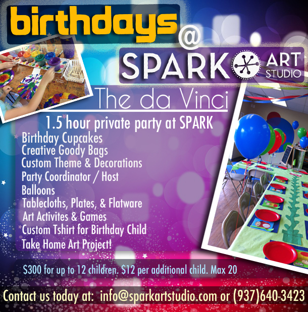 Art Project Birthday Party